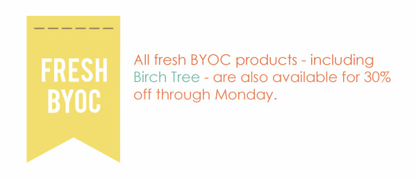 BYOC May 2013 30% off for NSD