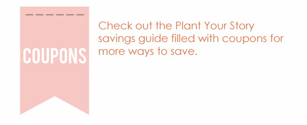 2013 NSD Savings Guide -- Plant Your Story