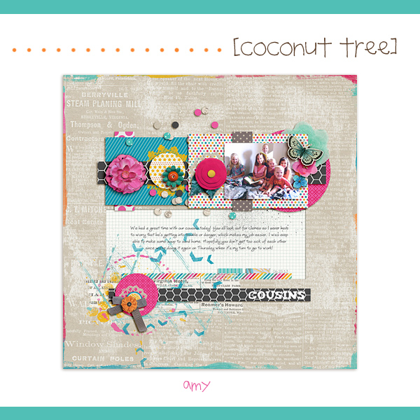 Coconut Tree inspiration
