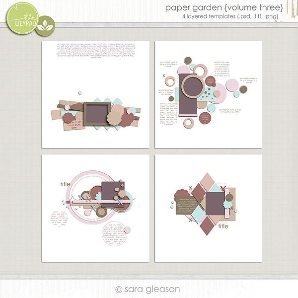Paper Garden {volume three}