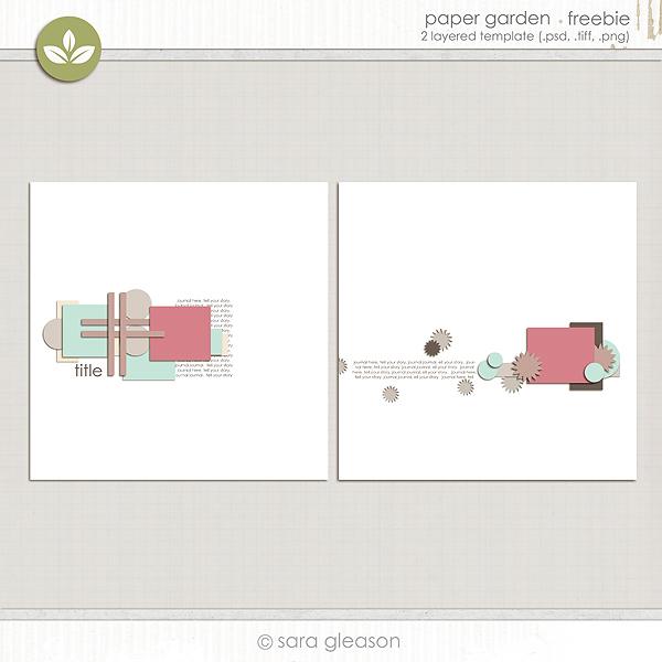 Paper Garden {free download}