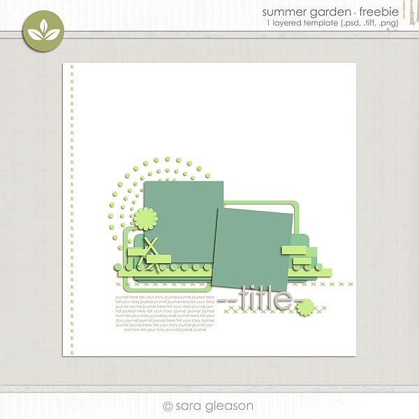 Summer Garden {free download}