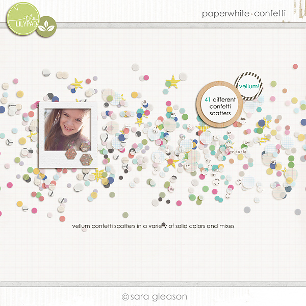 Paperwhite {confetti} from Plant Your Story by Sara Gleason available at TLP