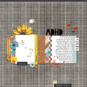 Poppy page design creative inspiration by Kimberlee