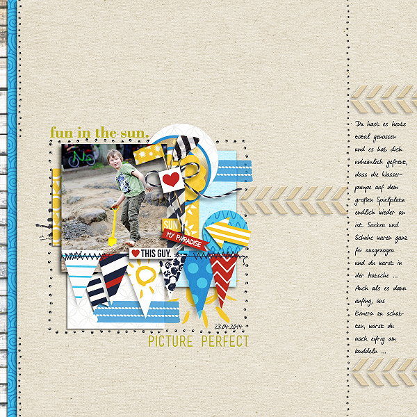 Poppy page design creative inspiration by Madlen