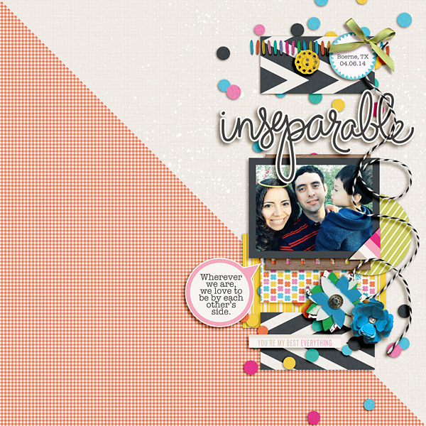 Poppy page design creative inspiration by Raquel