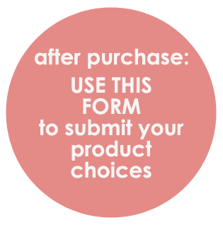 NSD Special Product Choice Form